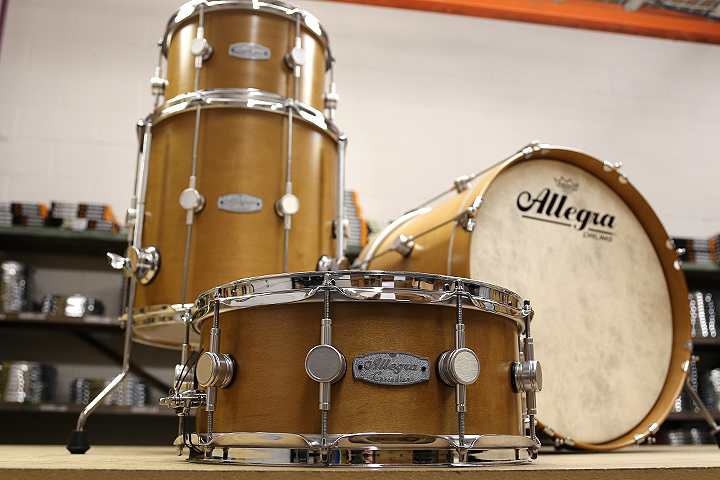 Allegra Drums Cascadian Kit in Vintage Maple