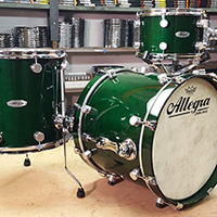 Custom Shop in Green Gloss