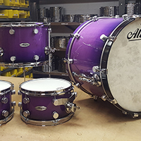 Custom Shop in Purple Fade