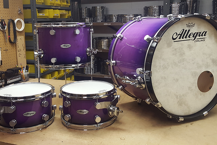 Allegra Drums Custom Shop Kit